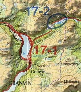 kart granvin Fiske i Granvinselva. Område 17 1 kart granvin